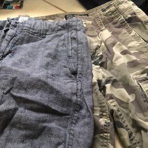 3 piece. 2-shorts 1 polo